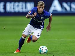 Max Meyer vor Wechsel von Schalke 04 zu 1899 Hoffenheim