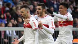 Anastasios Donis (li.) wurde mit Eintracht Frankfurt in Verbindung gebracht