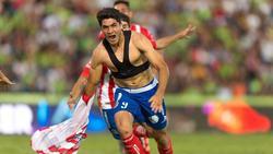 El argentino Nicolás Ibáñez marcó el segundo gol del Atlético San Luis.