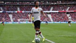 Parejo es el primer jugador del equipo rival que marca de libre directo en el Wanda Metropolitano.