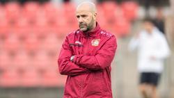 Peter Bosz braucht mit Bayer unbedingt einen Sieg