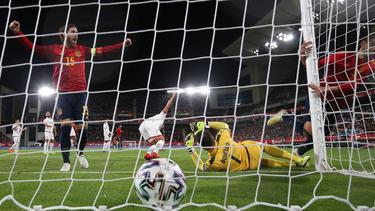 Die Spanier haben Malta keine Chance gelassen