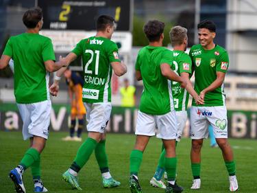 Lustenau setzt seine Siegesserie in der 2. Liga fort