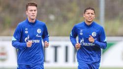 Verließen den FC Schalke 04 im Sommer: Matthew Hoppe (l.) und Amine Harit