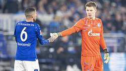 Neuer Kapitän auf Schalke: Omar Mascarell (li.)