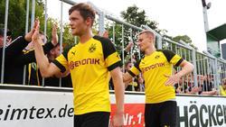 Spielten einst zuammen beim BVB: Luca Kilian (l.) und Amos Pieper