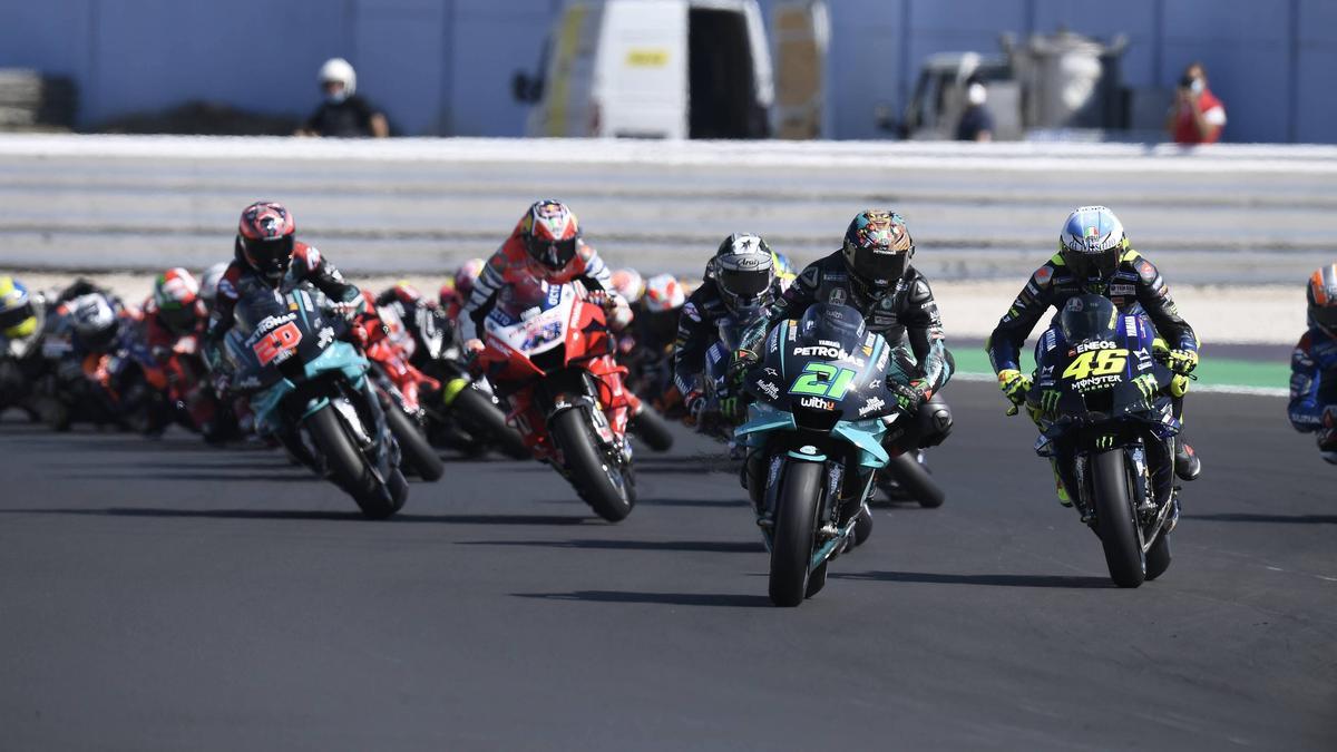 Neues Funksystem in der MotoGP