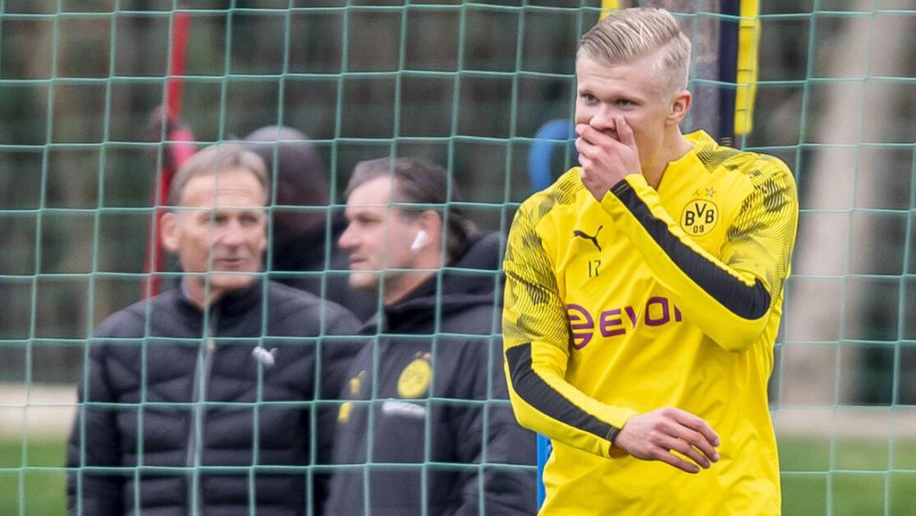Erling Haaland erzielte vier Treffer für den BVB bei Hertha BSC