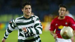Christiano Ronaldo wurde bei Sporting zum Profi