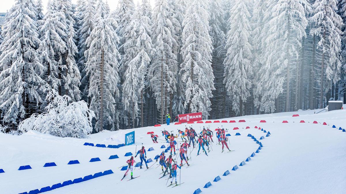 Corona überschattet den Biathlon-Weltcup in Oberhof