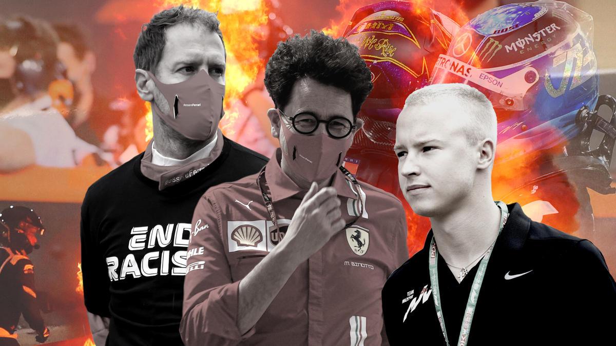 In der Formel 1 gibt es 2021 einige potenzielle Brandherde