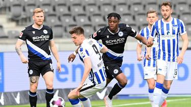 Hertha BSC und Arminia Bielefeld trennen sich unentschieden
