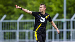 Franz Pfanne schaffte mit dem BVB II sportlich den Aufstieg