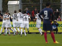 Jubel beim FC Aarau