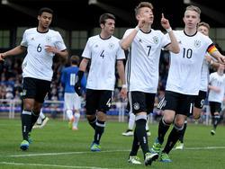 Deutschlands U16 besiegt Italien
