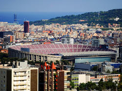 Das Camp Nou wird modernisiert