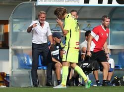 Austria-Trainer Thorsten Fink kritisierte Lukas Rotpuller heftig