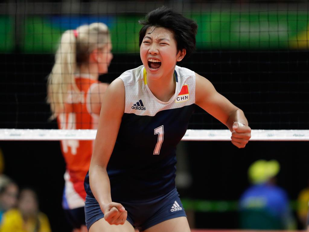 Die Chinesinnen spielen in Rio um Gold