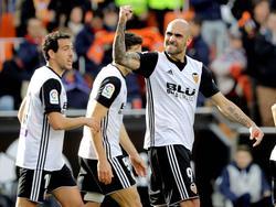 Zaza marcó el segundo gol del Valencia tras una asistencia de Parejo. (Foto: Imago)