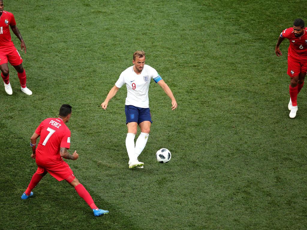 Harry Kane erzielte für England bei der WM bereits fünf Treffer