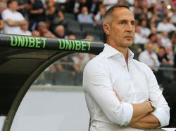 Eintracht Frankfurt ging im ersten Spiel unter Adi Hütter mit 0:5 unter. © imago/Rene Schulz