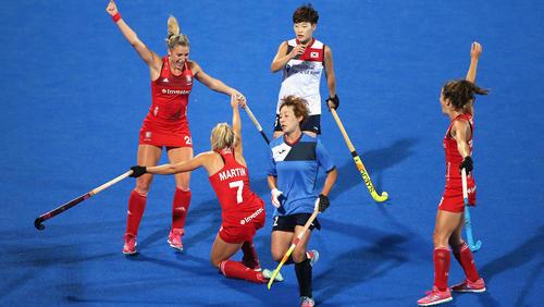 Englands Hockey-Damen stehen im Viertelfinale
