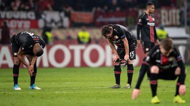Bayer Leverkusen ist vor heimischem Publikum ausgeschieden