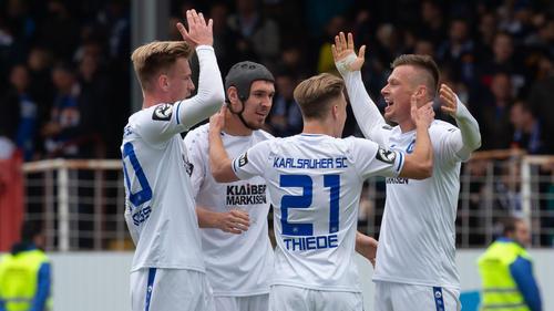 Karlsruhe spielt in der nächsten Saison in der 2. Fußball-Bundesliga