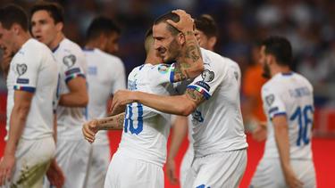 Italien ließ gegen Griechenland nichts anbrennen