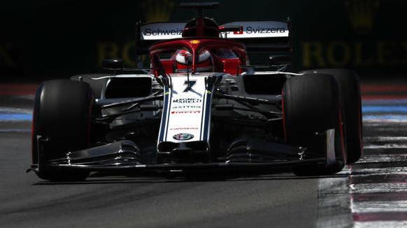 P7 für die 7: In Le Castellet fuhr Kimi Räikkönen erstmals seit Baku in die Punkte