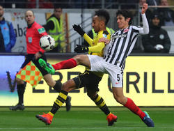 Jesús Vallejo contra el Borussia Dortmund en la Bundesliga. (Foto: Getty)
