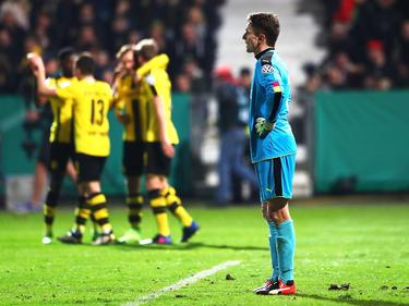 El Dortmund ganó en Lotte por 0-3. (Foto: Getty)