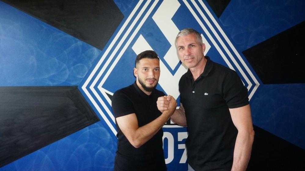 Arianit Ferati (l.) kommt vom Hamburger SV