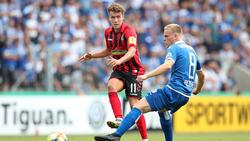 Hat sein Team vor einer Blamage bewahrt: Luca Waldschmidt (l.)