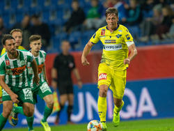 In seinem zweiten Spiel als Kapitän geigte René Gartler auf