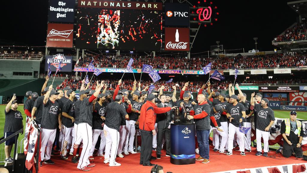 """Die """"Nats"""" stehen in der World Series"""