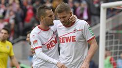 Beim FC Schalke wiedervereint: Dominick Drexler (l.) und Simon Terodde