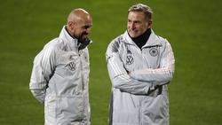 Antonio di Salvo (l.) beerbt Stefan Kuntz (r.) als U21-Coach
