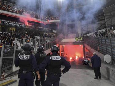 Turbulente Szenen in Marseille