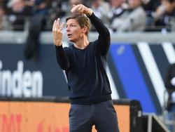 Eintracht Frankfurts Cheftrainer Oliver Glasner war nach derNiederlage sauer