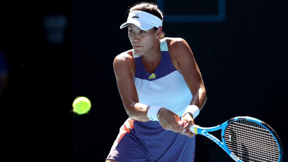 Garbine Muguruza folge Sofia Kenin ins Finale der Australian Open