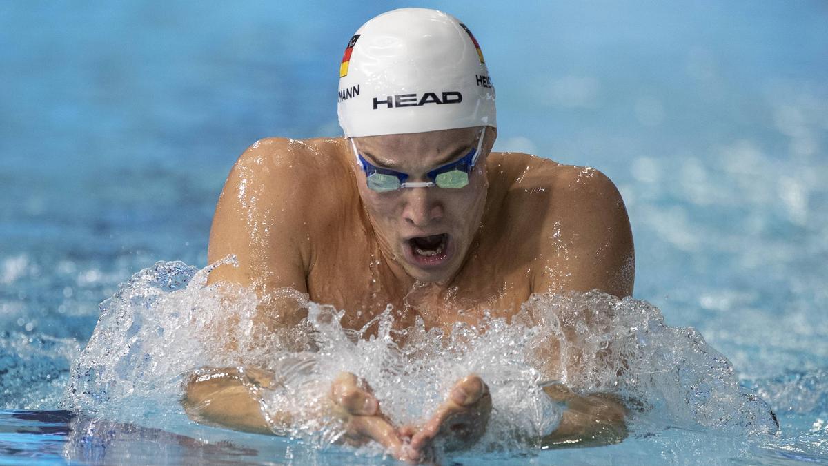 Jacob Heidtmann gewann das Rennen über 400 m Lagen