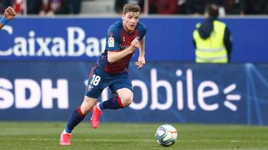 BVB-Leihgabe Sergio Gómez steigt mit SD Huesca in die erste spanische Liga auf