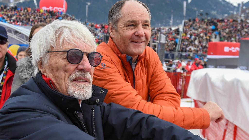 Bernie Ecclestone hat noch immer gute Verbindungen ins Formel-1-Paddock