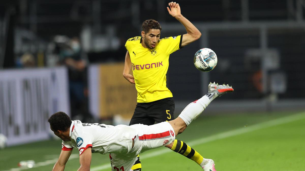 Achraf Hakimi hat den BVB verlassen und in Mailand unterschrieben
