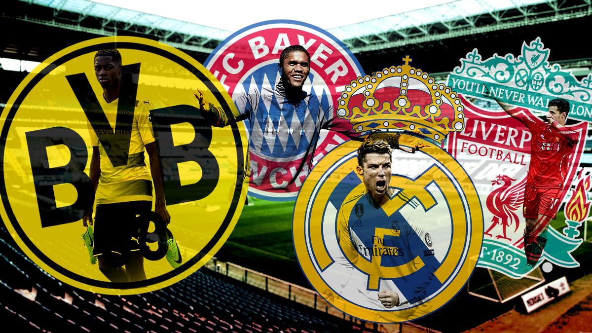 BVB und FC Bayern sind genauso im Ranking wie Real Madrid und der FC Liverpool