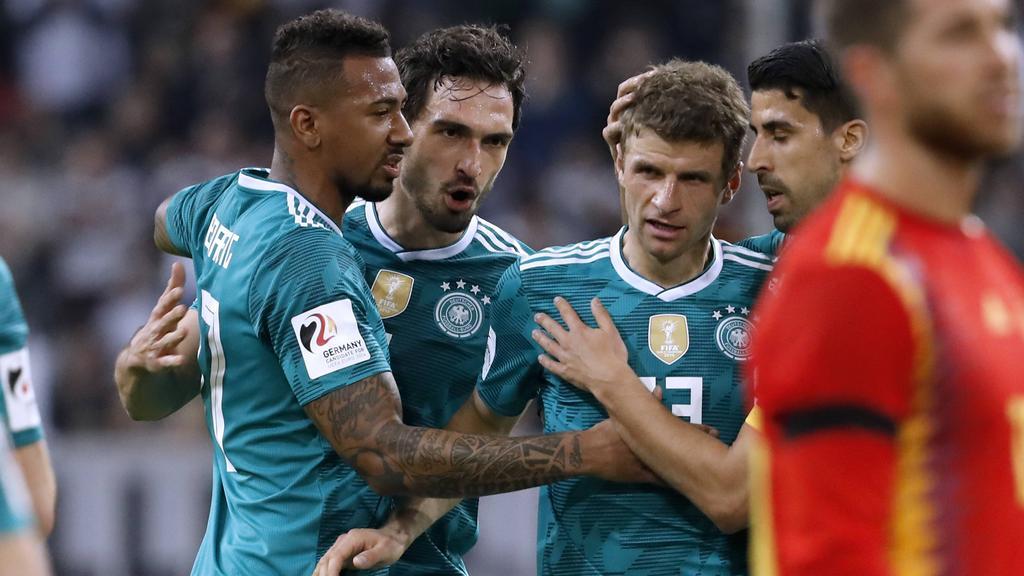 BVB und FC Bayern statt DFB-Team: Jérôme Boateng, Mats Hummels und Thomas Müller (v.l.n.r.)