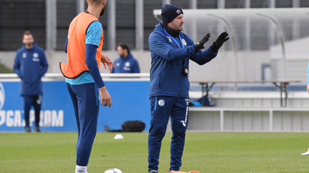 Manuel Baum will mit dem FC Schalke endlich raus aus der Krise