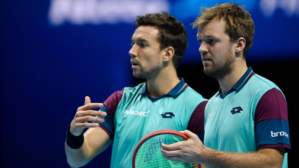Kevin Krawietz (r.) und Andreas Mies (l.) verpassten in London das Halbfinale