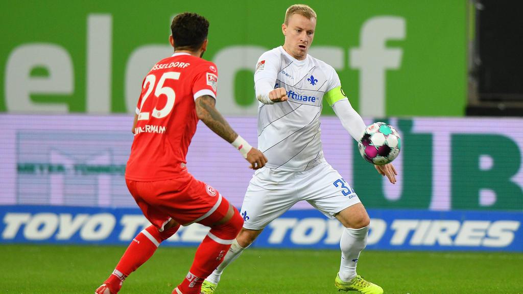 Düsseldorf setzte sich knapp gegen Darmstadt durch